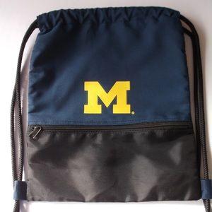 Handbags - University of Michigan Drawstring Gymsack